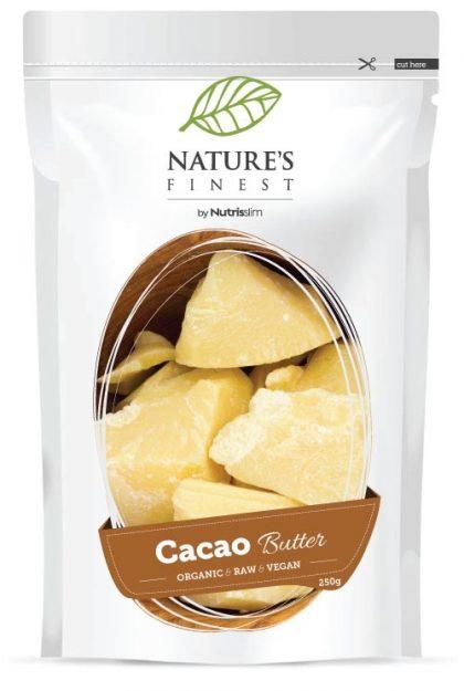kakao, maslac, nutrisslim, superhrana, organski, veganski, sirovo