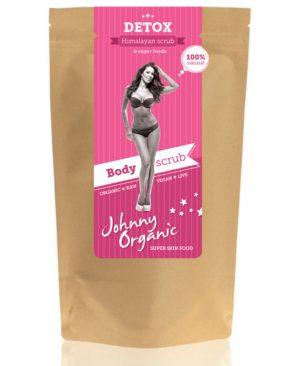 Detox Rozi Piling s Himalajskom solju - Johnny Organic, Soulfood internet trgovina