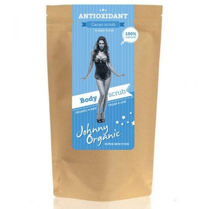 Antioxidant Piling za tijelo od kakaa - bio, vegan, Johnny Organic, Soulfood internet trgovina