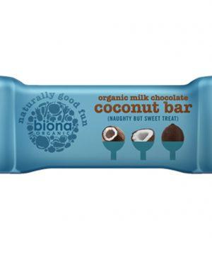 Cokoladna plocica mlijecna cokolada - bio, vegan, 40g, Biona, Soulfood internet trgovina