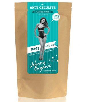Anti celulit piling za tijelo od kave - bio, vegan, Johnny Organic, Soulfood internet trgovina