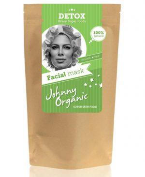 Detox piling i maska za lice - bio, vegan, Johnny Organic, Soulfood internet trgovina