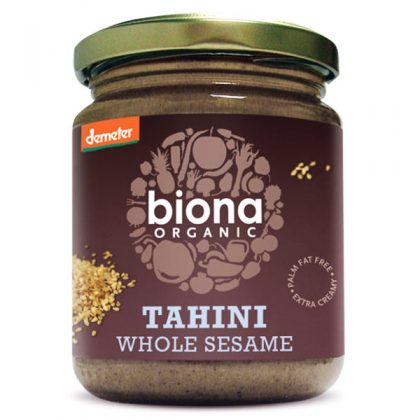 Tahini od integralnog sezama - bio, vegan, 250g, Biona, Soulfood internet trgovina