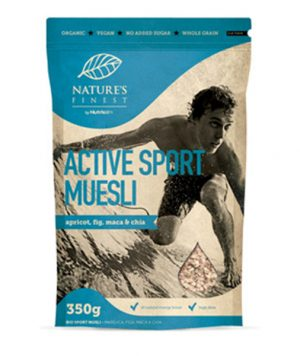 Musli Active Sport - bio, vegan, 320g, Nutrisslim, Soulfood internet trgovina