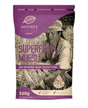 Musli Superfood - bio, vegan, 320g, Nutrisslim, Soulfood internet trgovina
