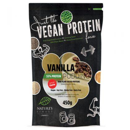 vanilija proteinski puding 55% zasladen stevijom, soul food internet trgovina
