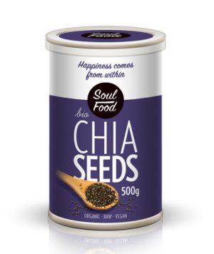 chia sjemenke bio 500 g soulfood, soulfood internet trgovina