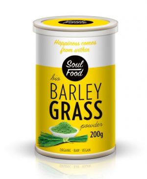 Ječmena trava 200g: bio, organski, sirovo, veganski, soul food internet trgovina