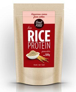 Protein riže soul food 500g: bio, organski, sirovo, veganski, soul food internet trgovina