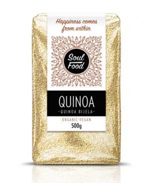 Quinoa bijela 500g: bio, organski, veganski, soul food internet trgovina
