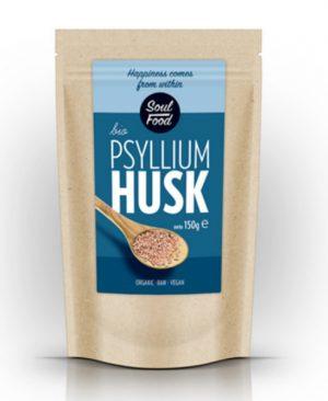 Psilium ljuskice 150g: bio, organski, veganski, sirovo, soul food internet trgovina