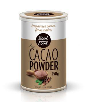 Kakao prah 250g: bio, organski, veganski, soul food internet trgovina