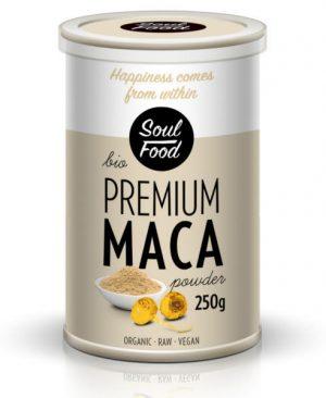 Maca premium 250g: bio, organski, sirovo, vegan, soul food internet trgovina