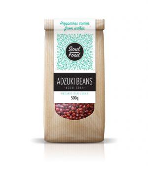 Adzuki grah 500g: bio, sirovo, veganski, soul food internet trgovina