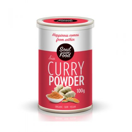 Curry 100g: bio, sirovo, veganski, soul food internet trgovina