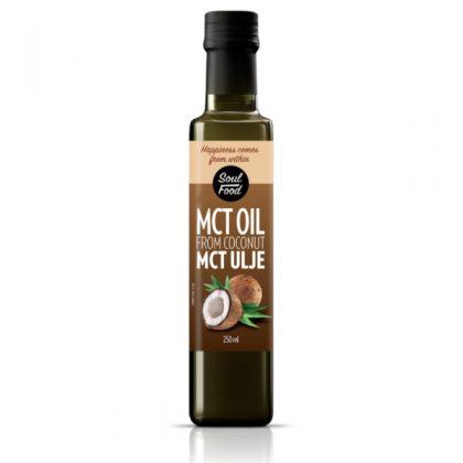 MCT kokosovo ulje 250ml: sport, energija, vegan, ulje, kokos, soul food internet trgovina