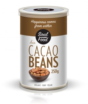 Kakao zrna 250g: bio, organski, veganski. soul food internet trgovina