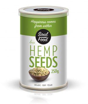 sjemenke konoplje ljuštene soulfood 250g, soulfood internet trgovina