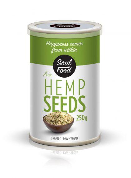 Sjemenke konoplje ljuštene 250g: bio, organski, veganski, sirovo, soul food internet trgovina soulfood 250g, soulfood internet trgovina