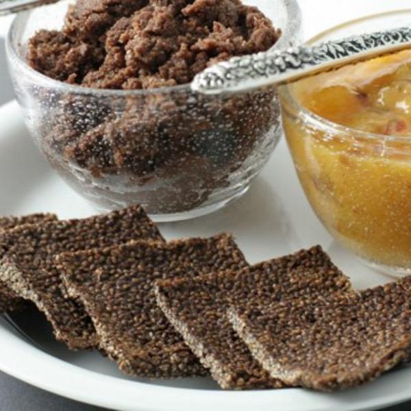 čokoladni chia krekeri, soul food internet trgovina