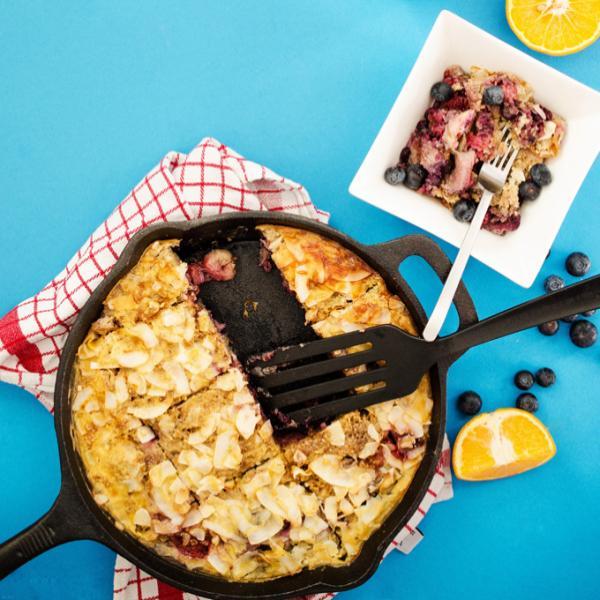 Bobičast Bulgur kolač za doručak, soul food internet trgovina