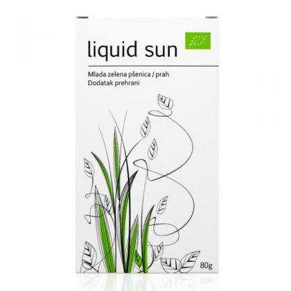 Mlada zelena pšenica u prahu - Liquid sun: bio, raw, vitamini, minerali, enzimi, aminokiseline, klorofil, hrvatski proizvod, Soul food internet trgovina