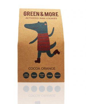 Aktivni kolačići kakao-naranča: bio, vegan, raw, desert, proteini, minerali, vitamini, energija, soul food internet trgovina