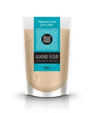 Bademovo brašno 250g: bio, sirovo, veganski, soul food internet trgovina