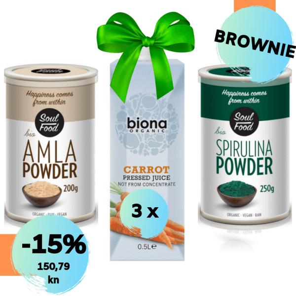 brownie da potamnim a ne izgorim, soul food internet trgovina