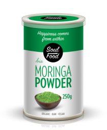 Moringa u prahu 250g: bio, organski, sirovo, veganski, soul food internet trgovina