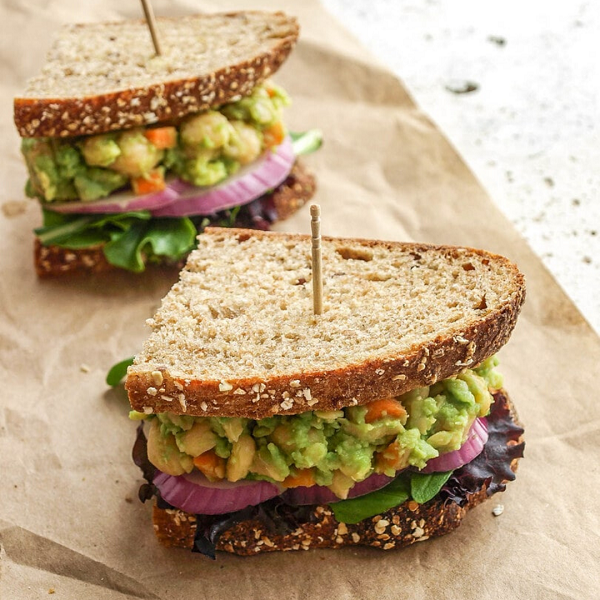 sendvič sa slanutkom i avokadom, soul food internet trgovina
