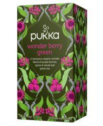 Pukka čaj: wonder berry green, bio, organski, soul food internet trgovina