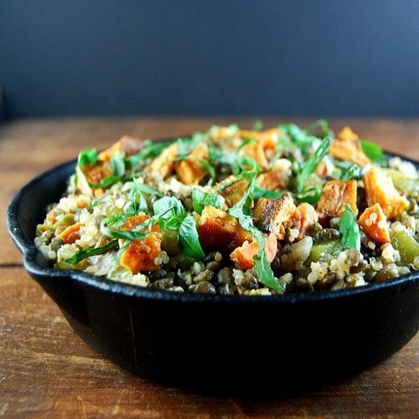 lagana quinoa salata, soul food salata