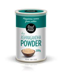 Ashwagandha 200g: imunitet,energija, bio, organski, veganski, soul food internet trgovina