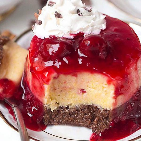 polenta tortice s umakom od trešanja, soul food internet trgovina