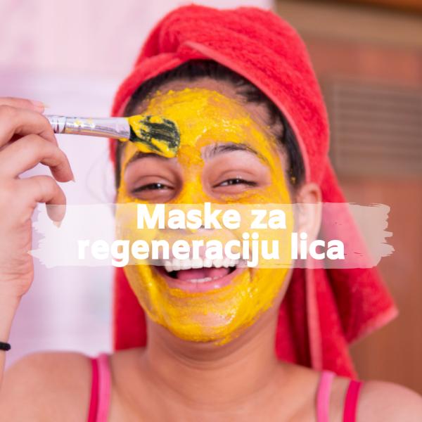 Maske za regeneraciju lica, soul food internet trgovina