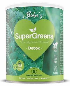 BABE'S SuperGreens DETOX, soul food internet trgovina