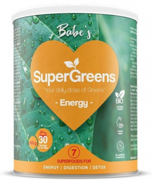 Babe's SuperGreens ENERGY, soul food internet trgovina