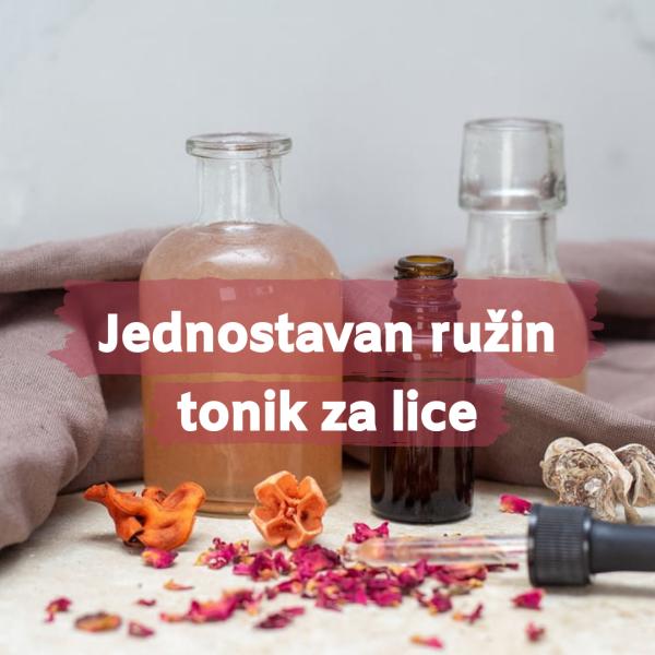 Jednostavan ružin tonik za lice, soul food internet trgovina